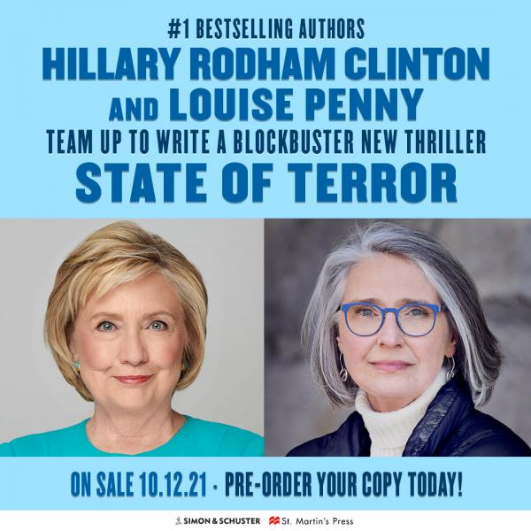 State of Terror by Hillary Clinton and Lousie Penny