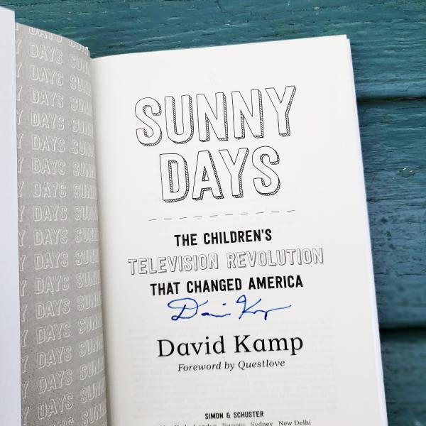 Sunny Days signed by David Kamp