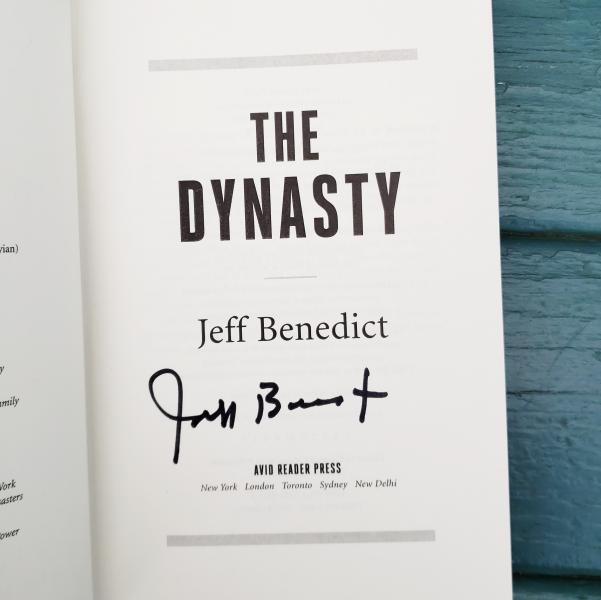 The Dynasty signed by Jeff Benedict