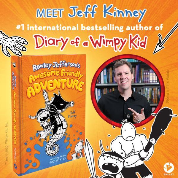 Meet Jeff Kinney