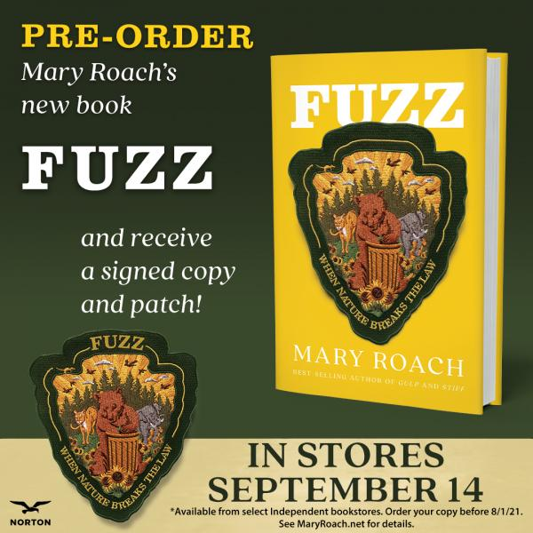 Fuzz by Mary Roach book cover