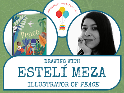 Drawing With Estelí Meza, Illustrator Of Peace