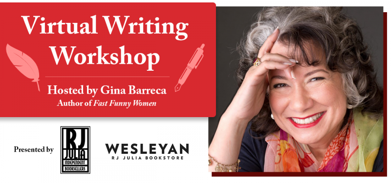 Virtual Writing Workshop with Gina Barreca, author of Fast Funny Women, presented by RJ Julia Booksellers