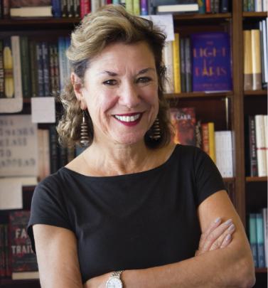 Roxanne Coady, owner of RJ Julia Booksellers