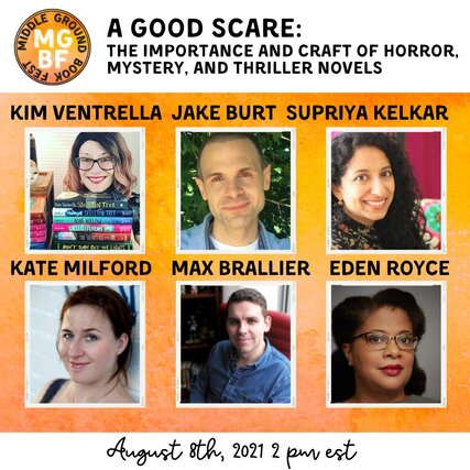 A Good Scare: the Importance and Craft of Horror, Mystery, and Thriller Novels for Middle Grade Readers panel