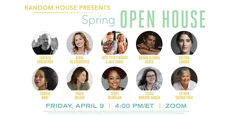 Random House Open House Graphic
