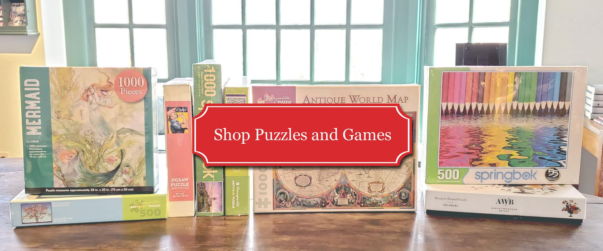 Shop Puzzles and Games