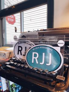 RJ Julia Bumper Sticker Magnets