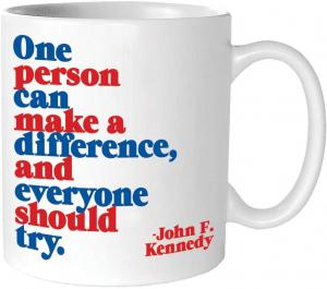 Quotable Cards One Person Can Make Quotable Mug
