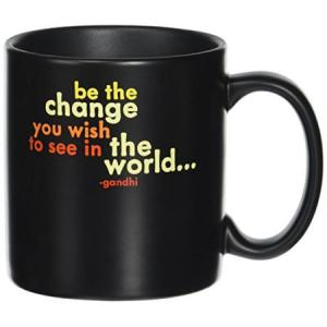 Quotable Cards Be the Change Quotable Mug