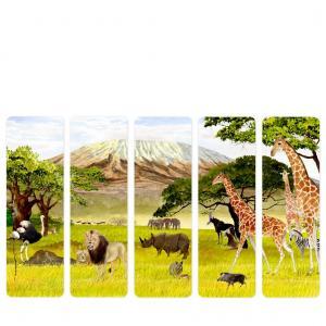 Felix Doolittle Bookmarks - Serengeti - Set of 5