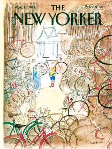 The New Yorker Bicycle Shop 1000 Piece Jigsaw Puzzle