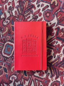 RJ Julia x Pedova Lined Leather Journal