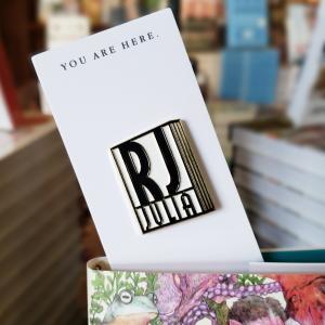 RJ Julia Logo Pin