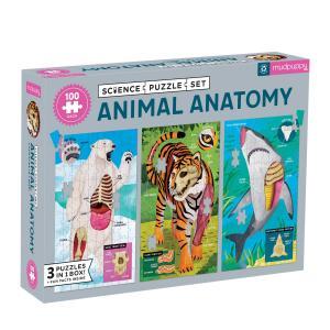 Mudpuppy Animal Anatomy Science Puzzle Set