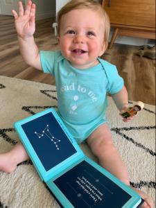 "RJ Julia ""Read to Me"" Baby Onesie"