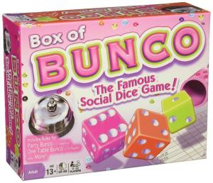 Box of Bunco The Famous Social Dice Game